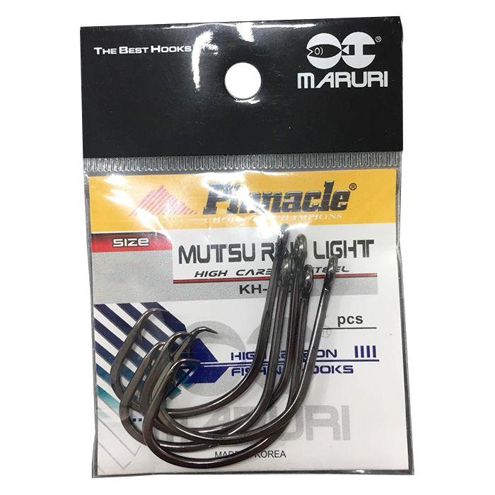 Anzol Pinnacle Mutsu Black 1/0 (10un)