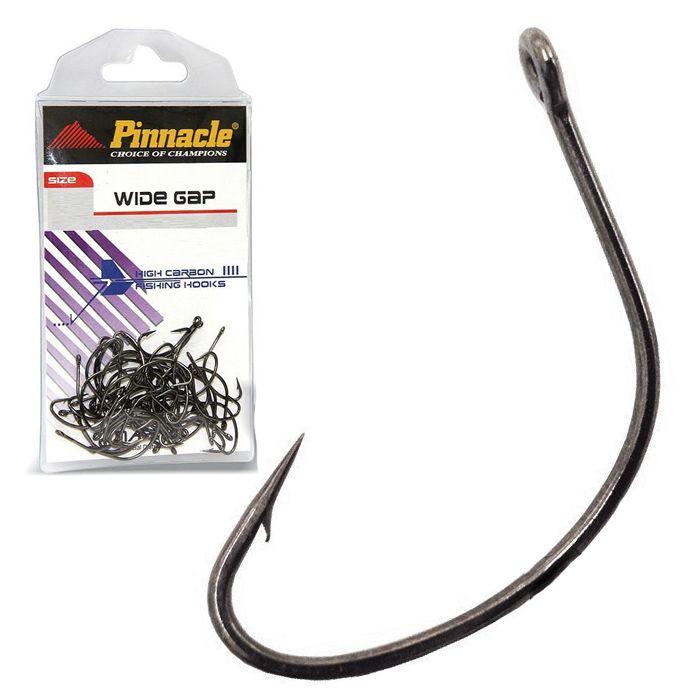 Anzol Pinnacle Wide Gap Black 1/0 (10un)