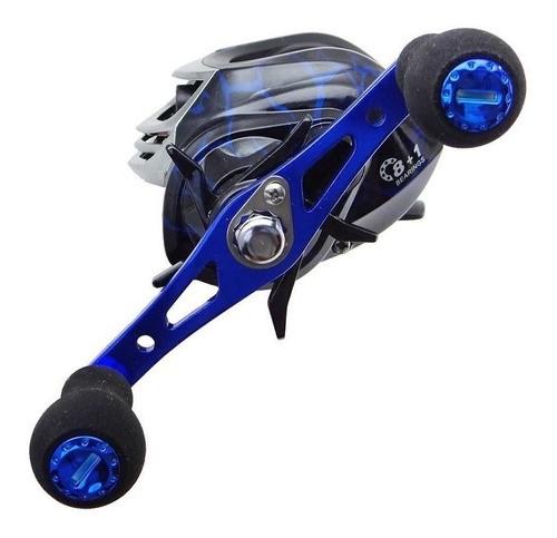 Carretilha Zeus 9000 azul HI/HIL (9 Rol.,Cap. de Linha 0,30 mm - 140 m)