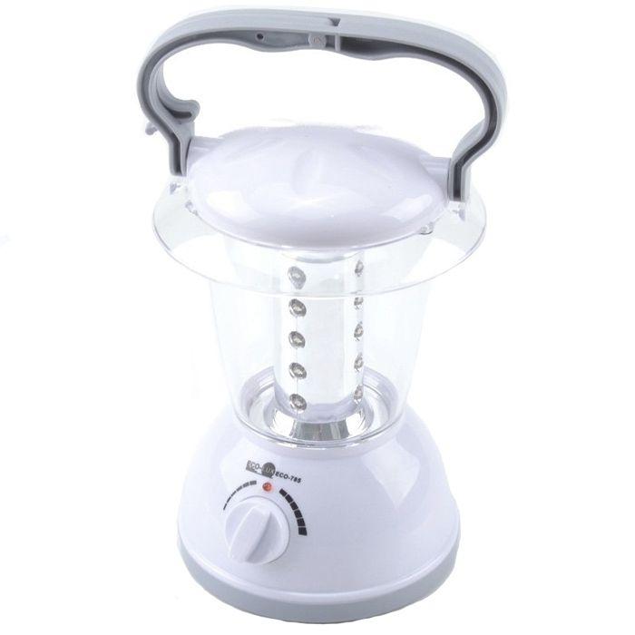 Lampião Eco Lux 785 (20 Leds, Recarregável)