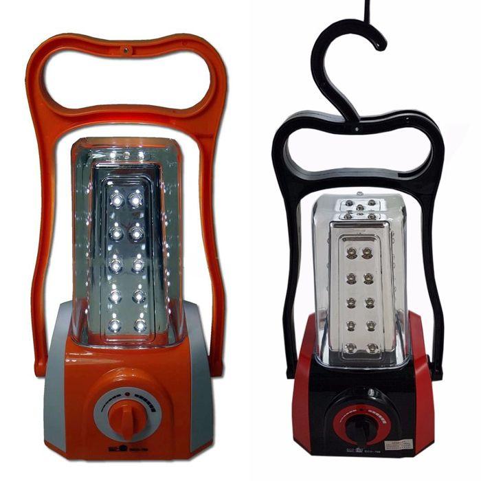 Lampião Eco Lux 799 (45 Leds, Recarregável)