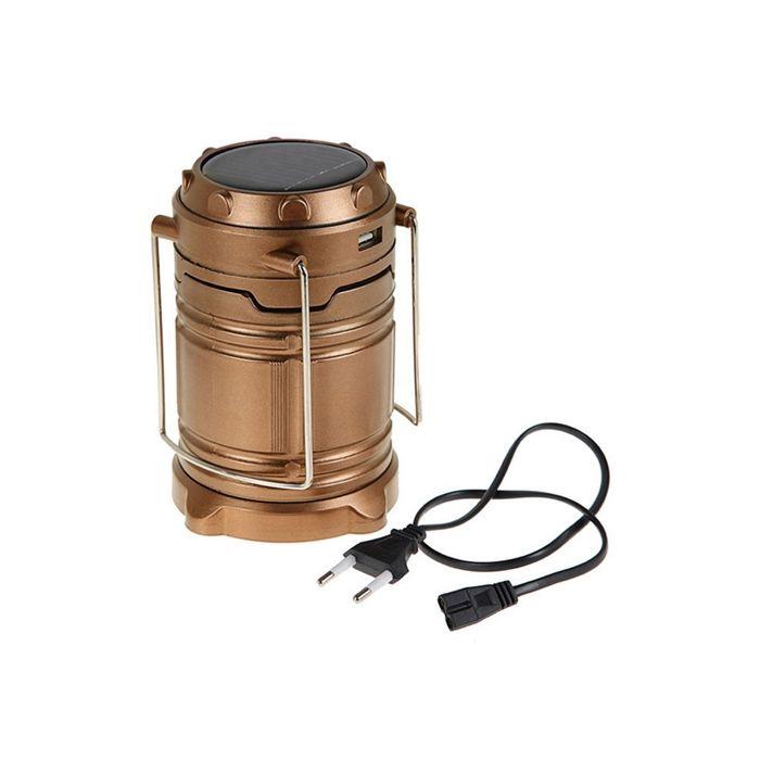 Lampião Xingu Solar (Lanterna, Lampião, USB, LED, Recarregável)