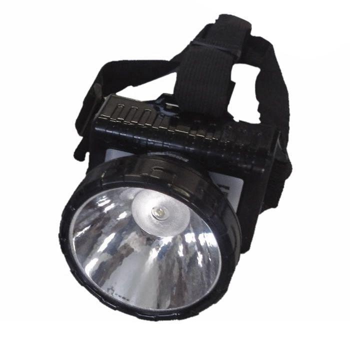 Lanterna de Cabeça Eco Lux 163 N (1 super Led, Recarregável)
