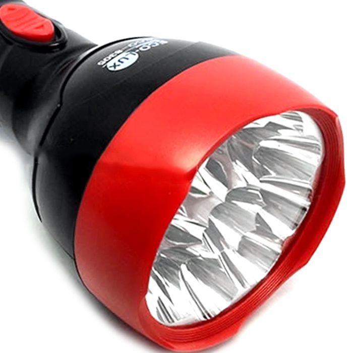 Lanterna Eco Lux 8305 (10 Leds, Recarregável)