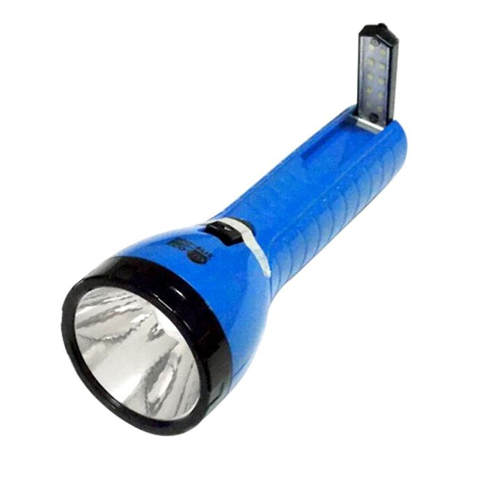 Lanterna Eco Lux 8712 (1 super Led + 10 Leds, Recarregável)