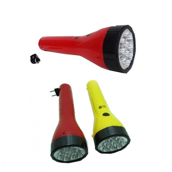 Lanterna Eco Lux 919 N (12 Leds, Recarregável)