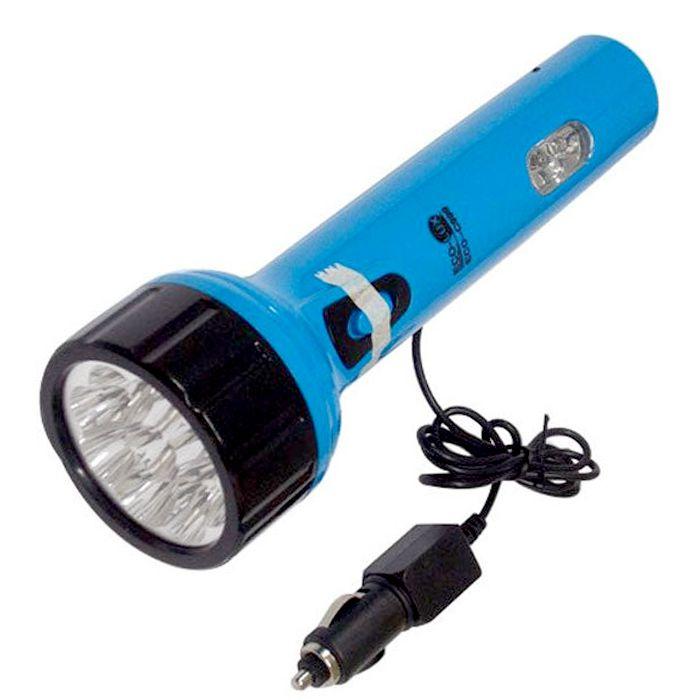 Lanterna Eco Lux C999 (9 + 1 Leds, Recarregável)