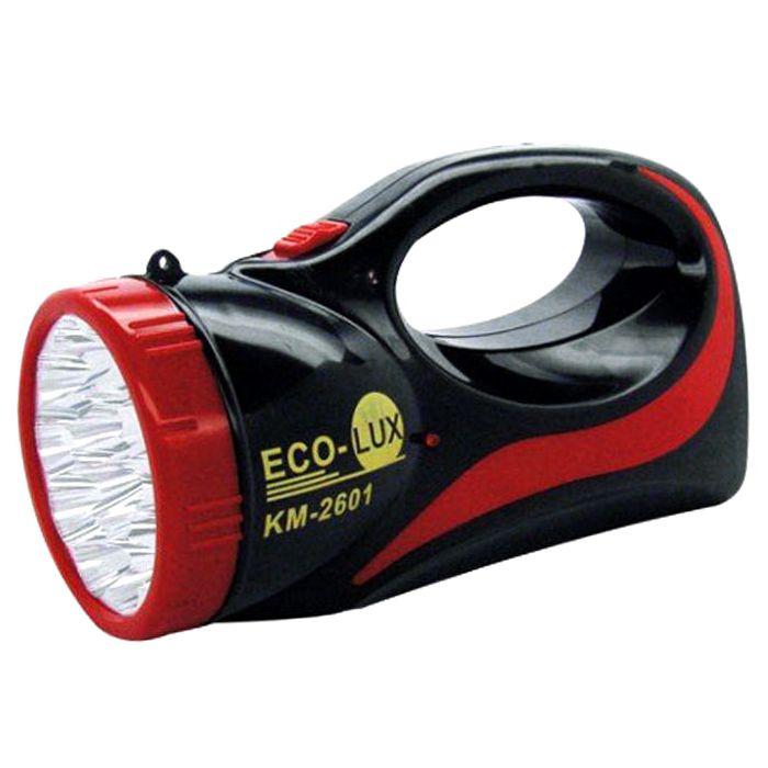 Lanterna Holofote Eco Lux 2601 N (15 Leds, Recarregável)