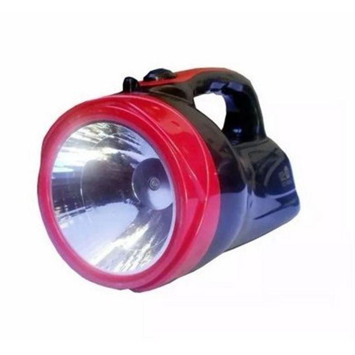 Lanterna Holofote Eco Lux 2610B (1 super Led, Recarregável)