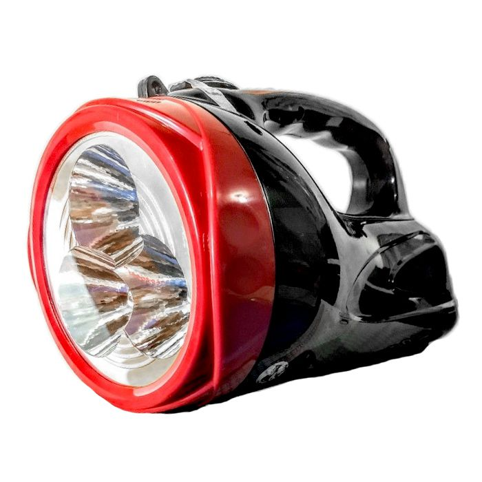 Lanterna Holofote Eco Lux 2610C (3 Leds, Recarregável)