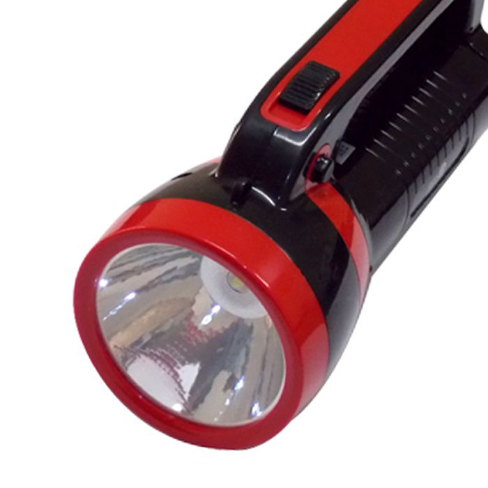 Lanterna Holofote Eco Lux 2631B (1 super Led, Recarregável)