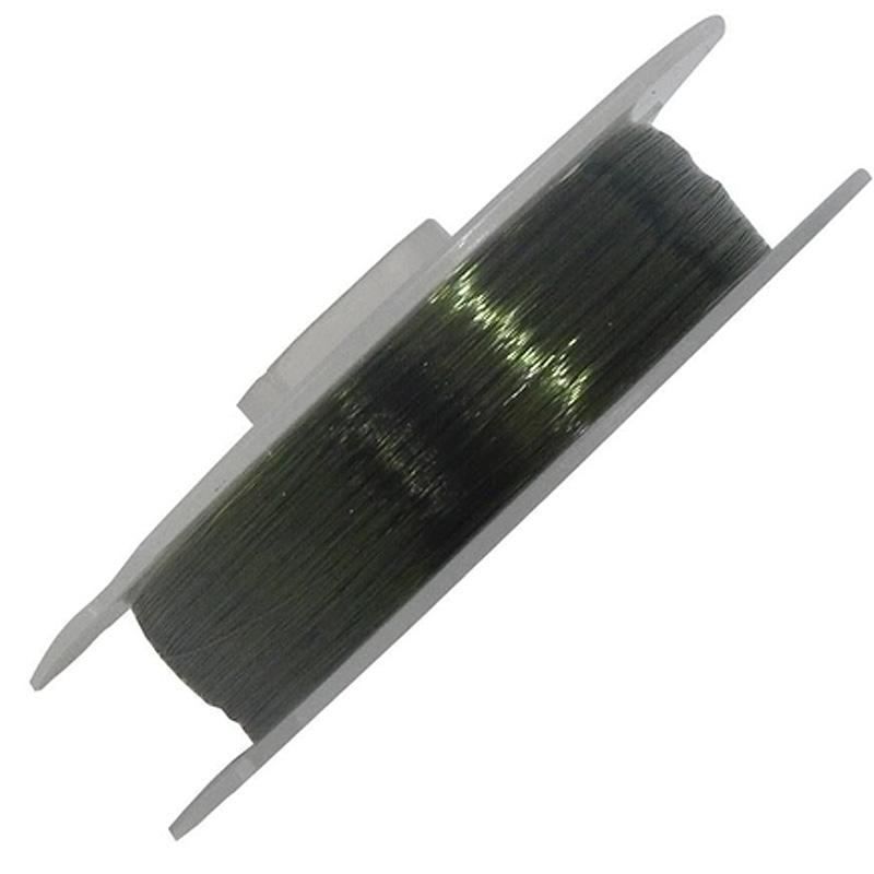 Linha Dourado Top Force 10,6lbs verde oliva (0,25mm-100m)
