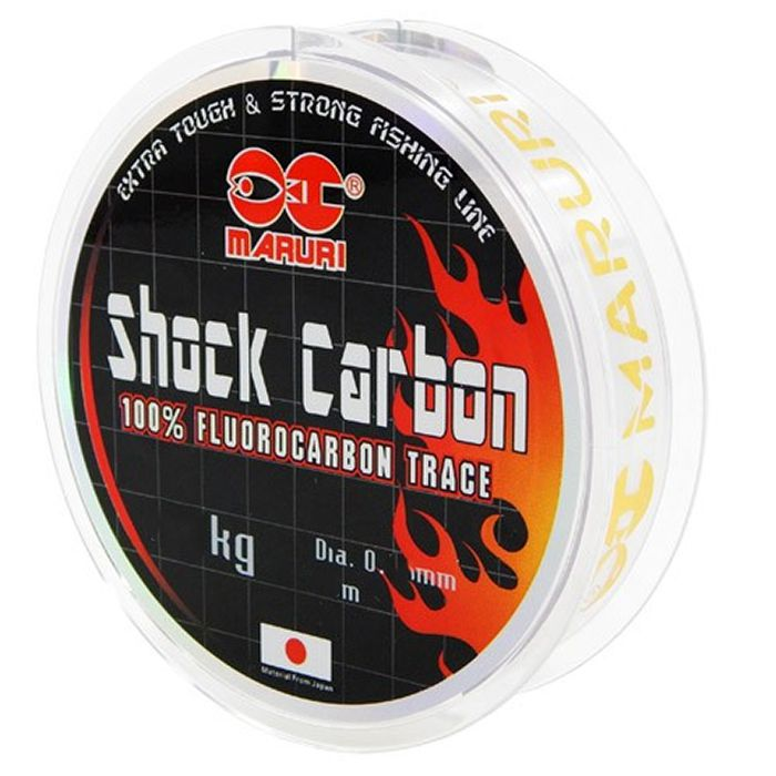 Linha Fluorocarbon Maruri Shock Carbon 11kg (0.45mm - 20m)