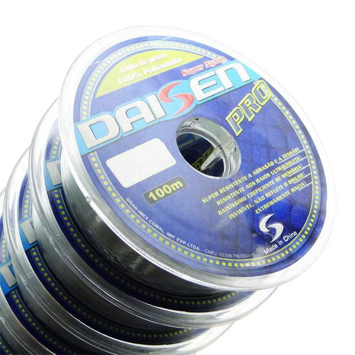 Linha Monofilamento Maruri Daisen Pro 02.8 kg (0.21mm - 1000m)