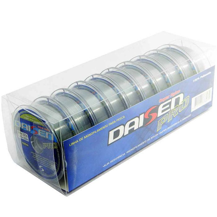 Linha Monofilamento Maruri Daisen Pro 03.6 kg (0.23mm - 1000m)