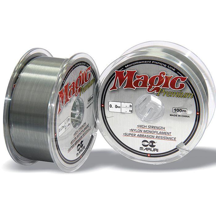 Linha Monofilamento Maruri Magic Premium 06.4kg (0.25mm - 1000m)