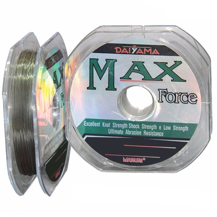 Linha Monofilamento Maruri Max Force 10.0 24.30kg (0.52mm - 1000m)
