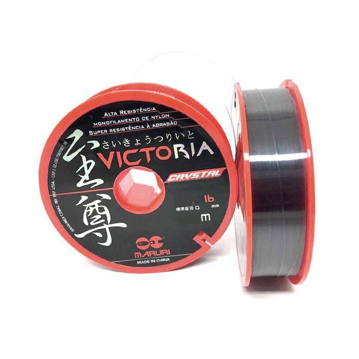 Linha Monofilamento Maruri Victoria Crystal 24.0 98lb (0.81mm - 1000m)