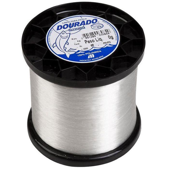 Linha Monofilamento Mazzaferro Dourado Premium 21lb (0.45mm - 250g)