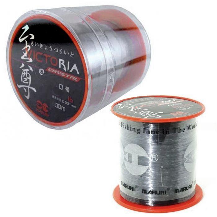 Linha Monofilamento Victoria Crystal 5.0 17lb (0.37mm - 600m)