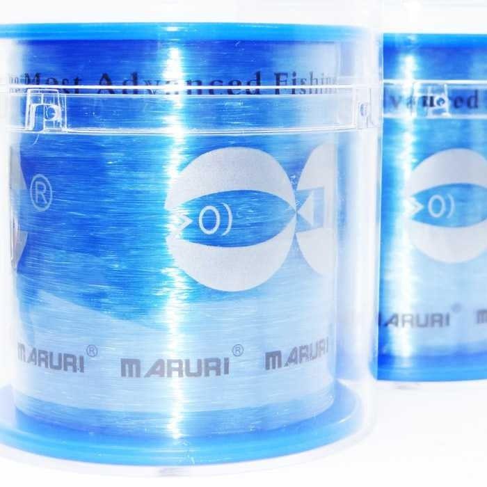 Linha Monofilamento Victoria Crystal Azul 5.0 17lb (0.37mm - 600m)