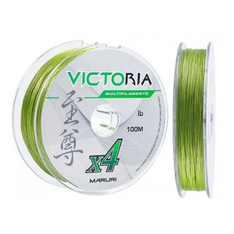 Linha Multif. Victoria 4x 22lbs verde (0,14mm-500m)