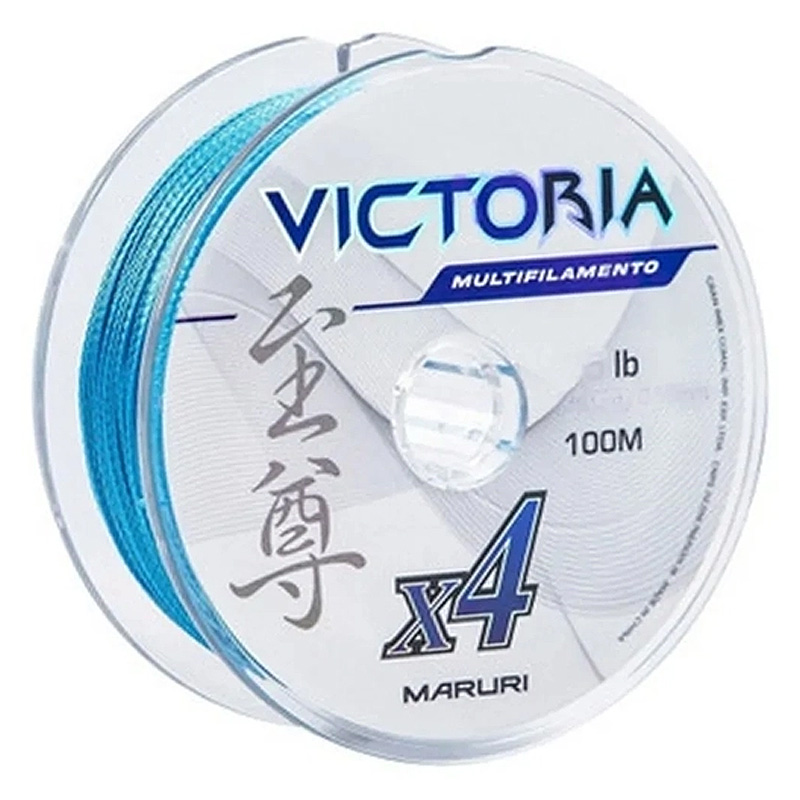 Linha Multif. Victoria 4x 24lbs azul (0,18mm-500m)