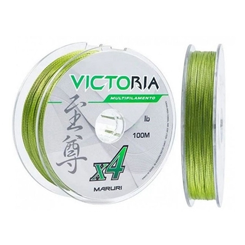 Linha Multif. Victoria 4x 35lbs verde (0,24mm-500m)