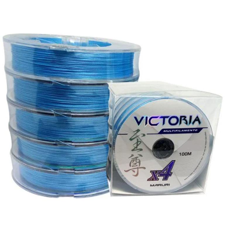 Linha Multif. Victoria 4x 39lbs azul (0,27mm-500m)