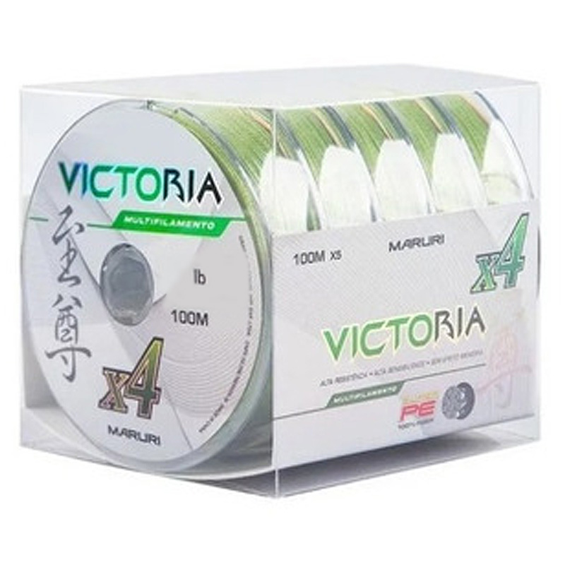 Linha Multif. Victoria 4x 48lbs verde (0,34mm-500m)