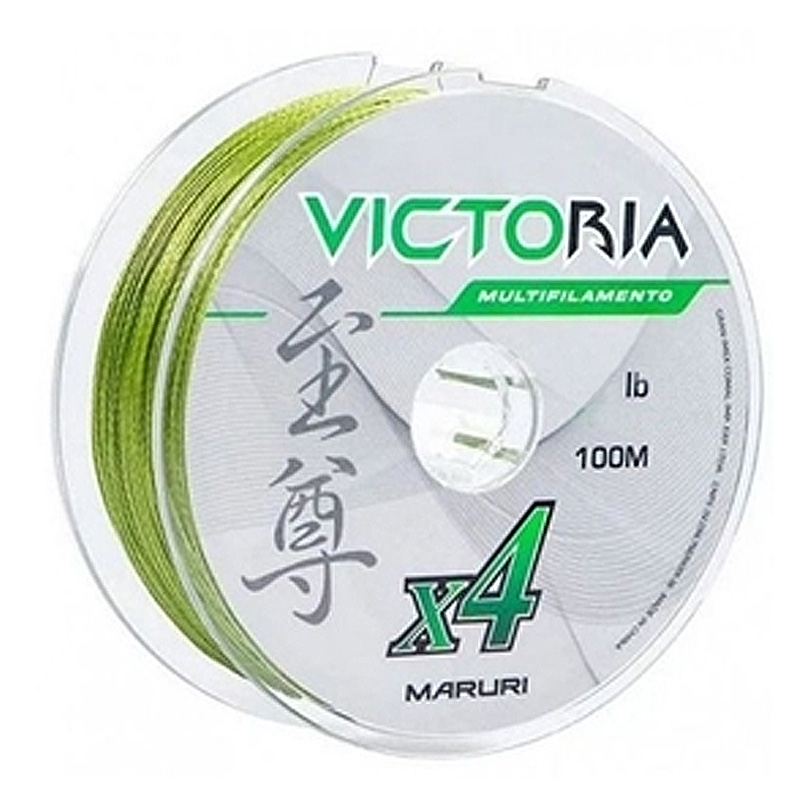 Linha Multif. Victoria 4x 53lbs verde (0,40mm-500m)