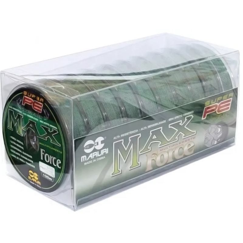 Linha Multifilamento Maruri Max Force (1000m)