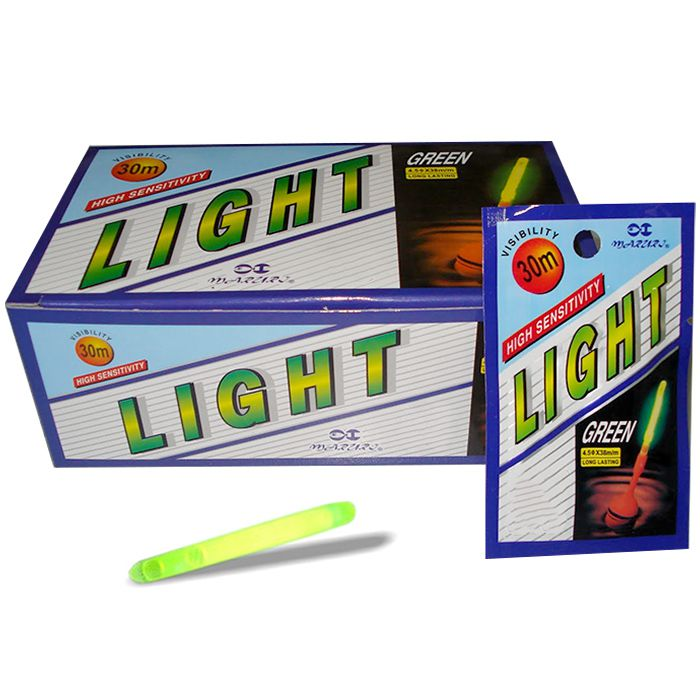 Luz Química Maruri Light Stick 11.0 150mm com 1 (Caixa com 50 cartelas)