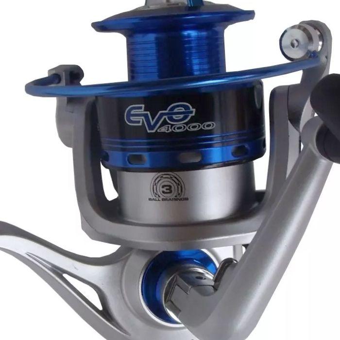 Molinete Maruri EVO 4000 (3 Rol., Cap. de Linha 0.30mm-170m)
