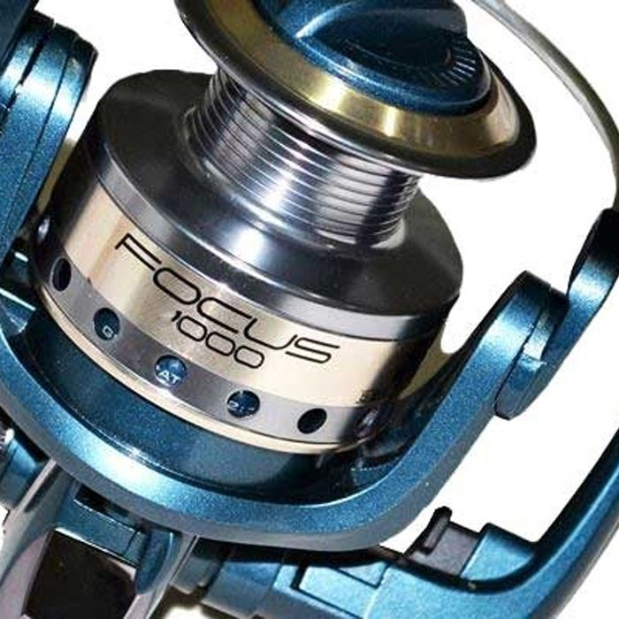 Molinete Maruri Focus 4000 (5 Rol., Rec. 5.2:1, Carretel em Alumínio)