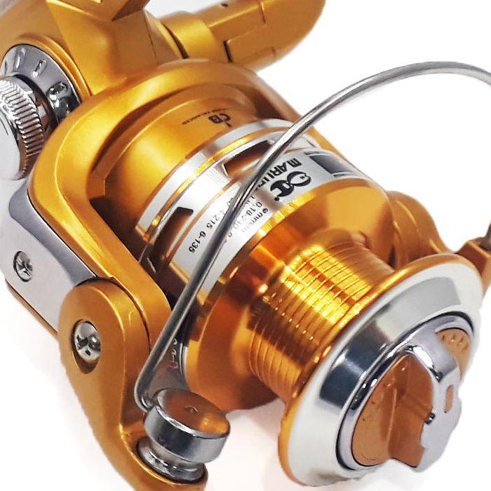 Molinete Maruri Nexus 6000 (5 Rol., Rotor Balanceado, Carretel Aluminio)