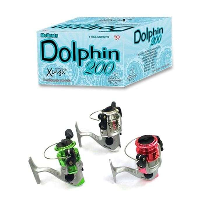 Molinete Xingu Dolphin 200 (Rec. 5.2:1 , UltraLight)