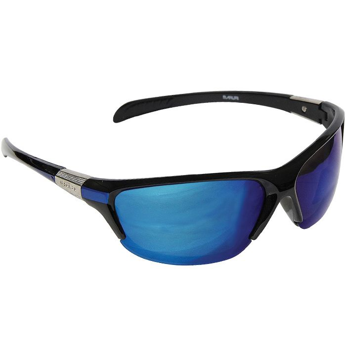 Óculos Polarizado Maruri 6513 (Preto/Espelhado Azul)