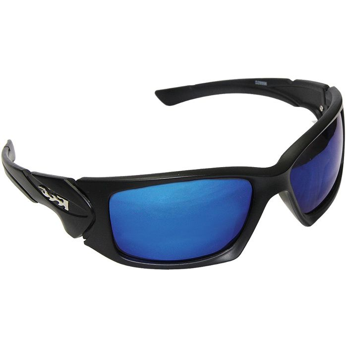 Óculos Polarizado Maruri 6556 (Preto/Espelhado Azul)