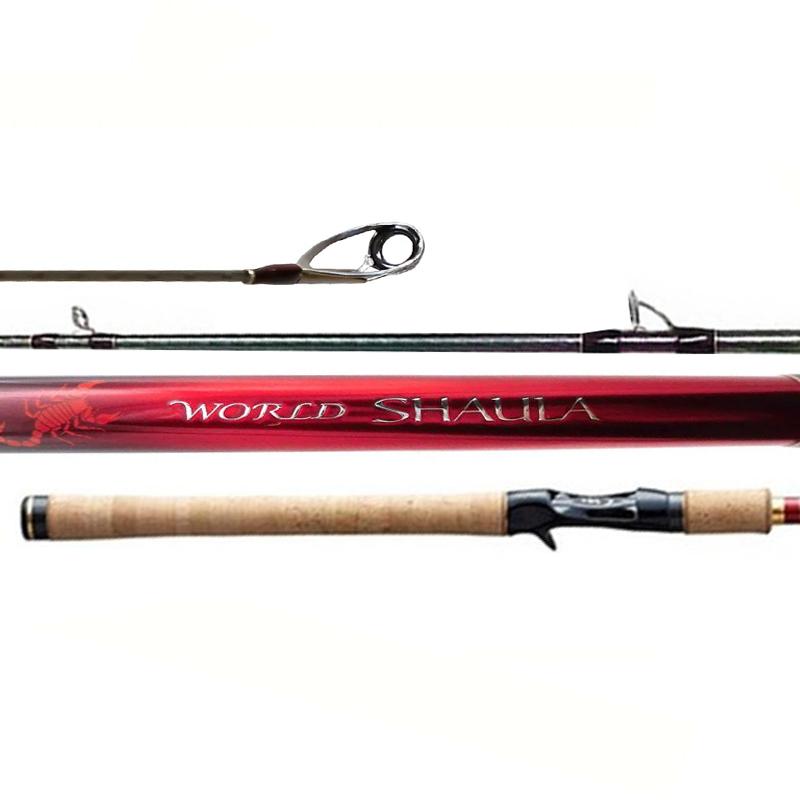 """Vara Shimano World Shaula 15103RS-3 (5'10"""" 14-30lb, 2 partes)"""