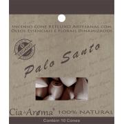Incenso Cone Palo Santo | 10 Cone Refluxo