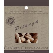 Incenso Cone Pitanga | 10 Cone