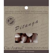 Incenso Cone Pitanga | 10 Cone Refluxo