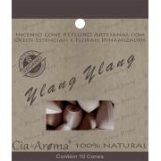 Incenso Cone Ylang Ylang | 10 Cone Refluxo