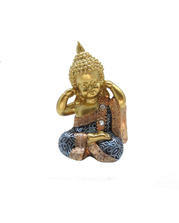 Buda Cego   Surdo   Mudo   Dourado/Azul