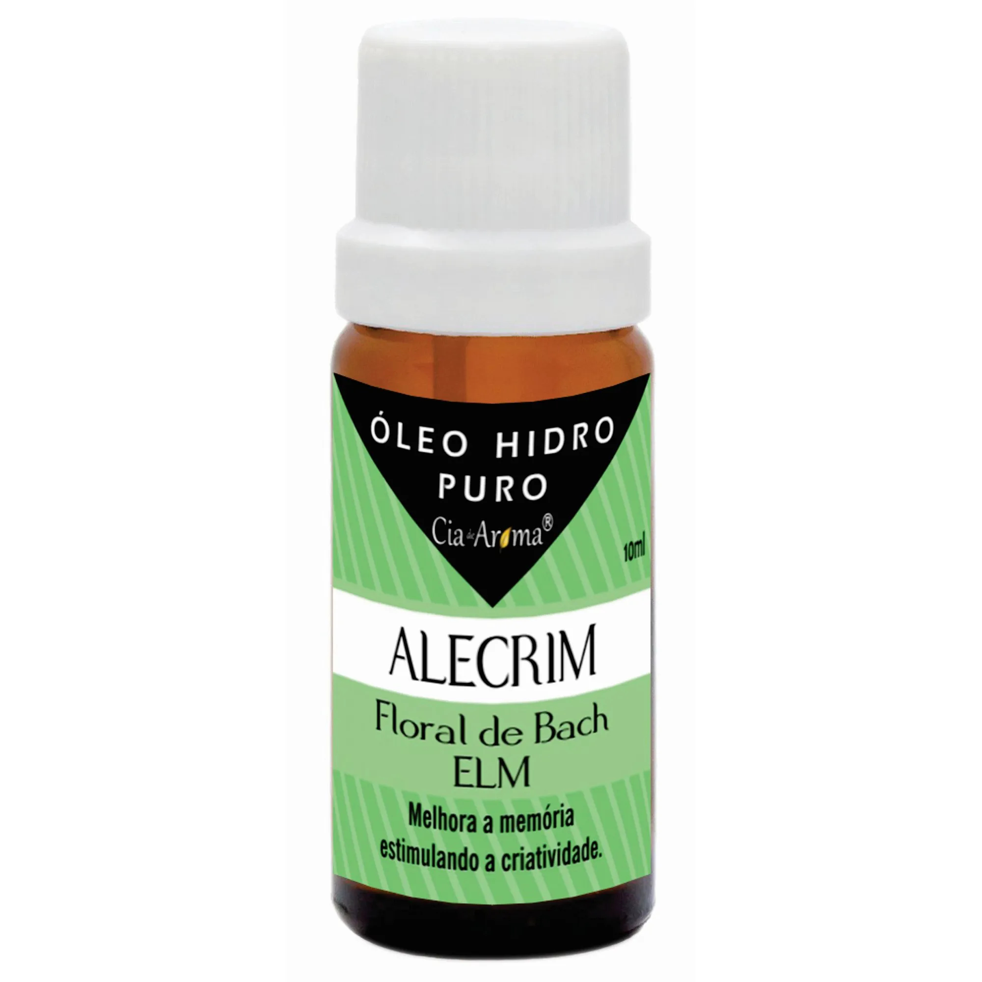 Essência Alecrim | Óleo Hidrossolúvel Puro | 10 ml
