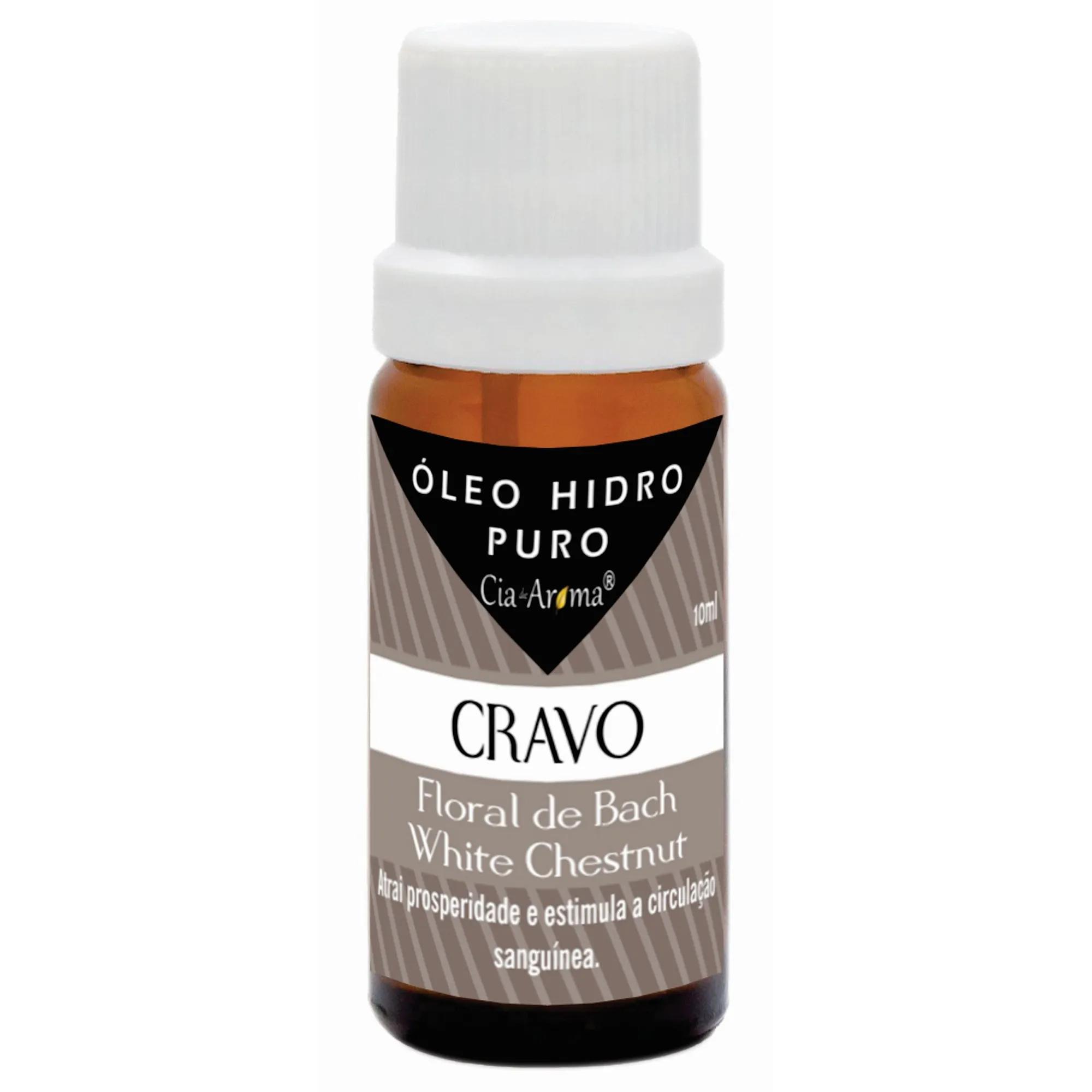 Essência Cravo | Óleo Hidrossolúvel Puro | 10 ml