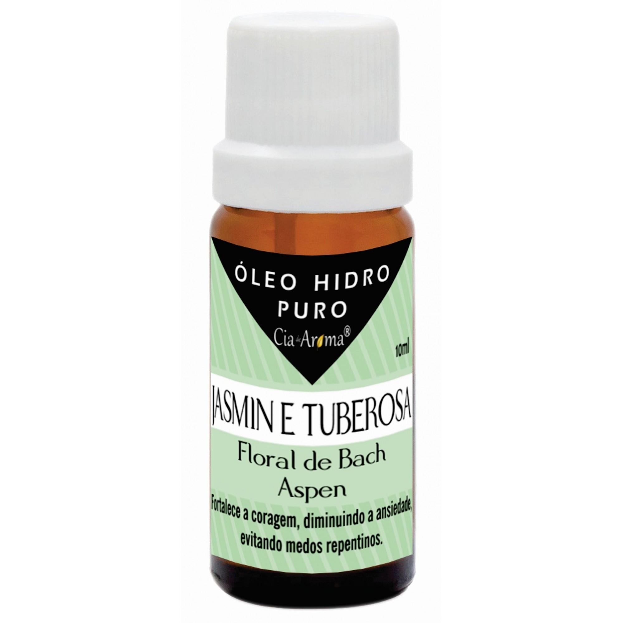 Essência Jasmin e Tuberosa | Óleo Hidrossolúvel Puro | 10 ml