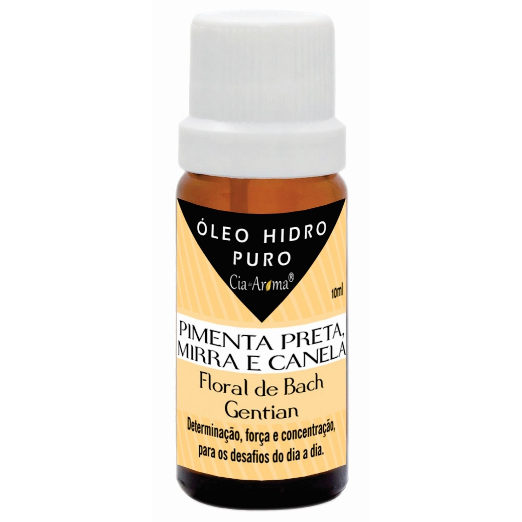 Essência Mirra, Canela e Pimenta Preta | Óleo Hidrossolúvel Puro | 10 ml