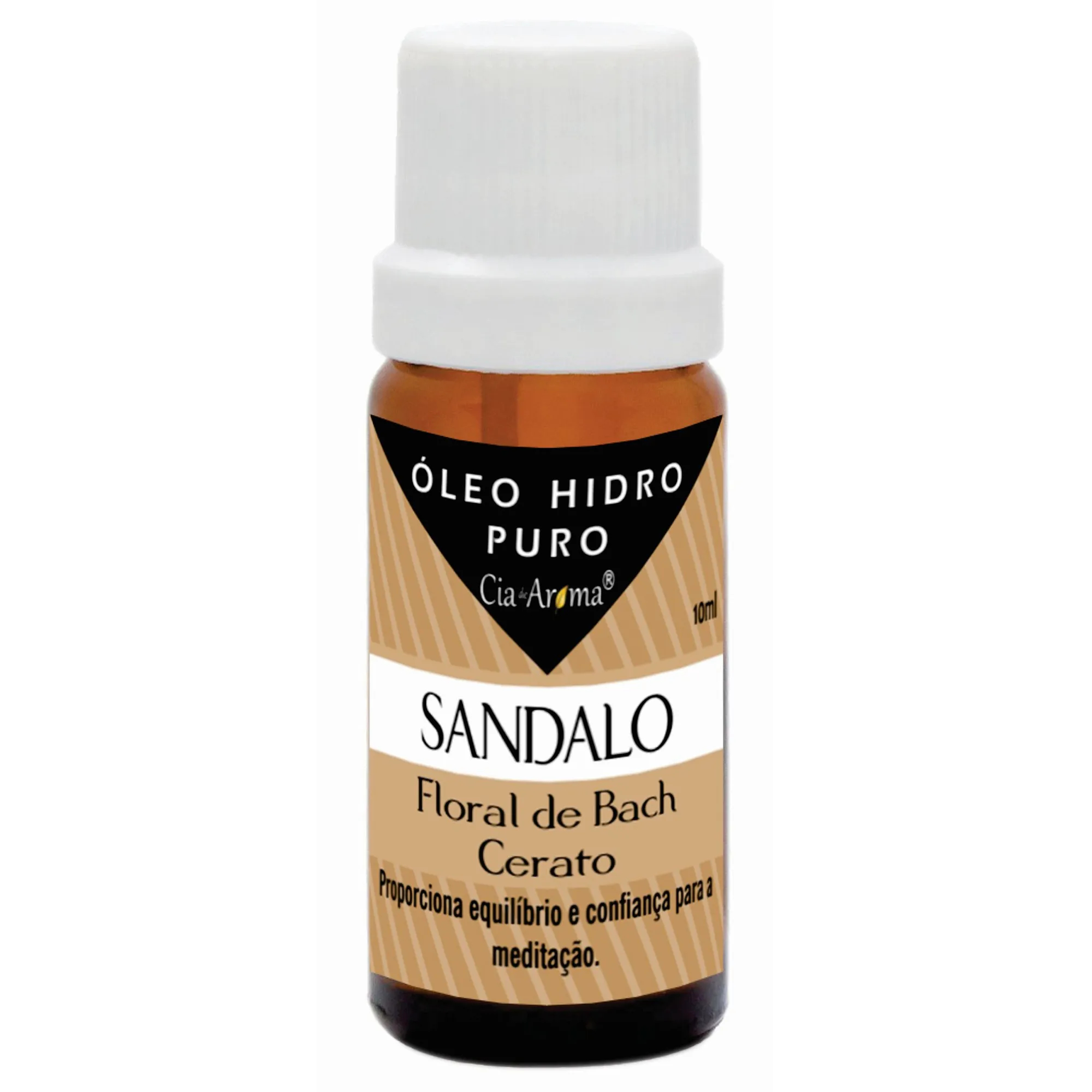 Essência Sândalo | Óleo Hidrossolúvel Puro | 10 ml